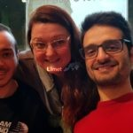 Da sinistra: Paolo Ferioli (Responsabile social IG e Direttivo Limet), Orietta Bruzzone e Erik Cherub.
