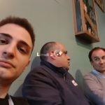 Da sinistra: Davide Monetti (Coordinatore Rete Limet) , Angelo Lupo (supporto rete Limet) , Stefano Capurro (Direttivo e Segretario).