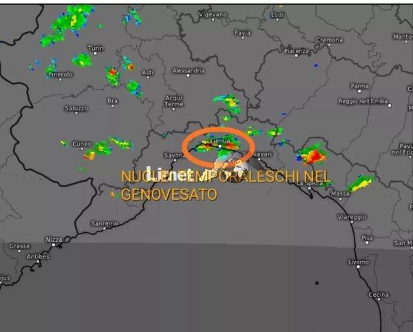 Immagine radar.