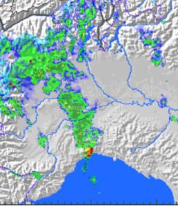 Le precipitazioni viste dal radar