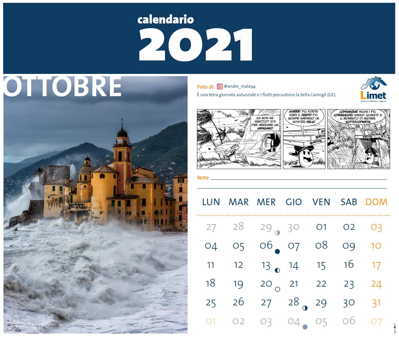 Raccolta Fondi Calendario 2021